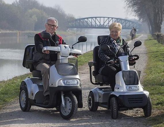 Afikim Scootmobielen Elektrisch Vervoer Centrum Heemskerk